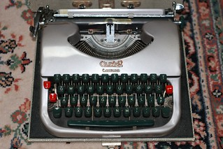 British Oliver Courier Type 5 Typewriter   by nickant44