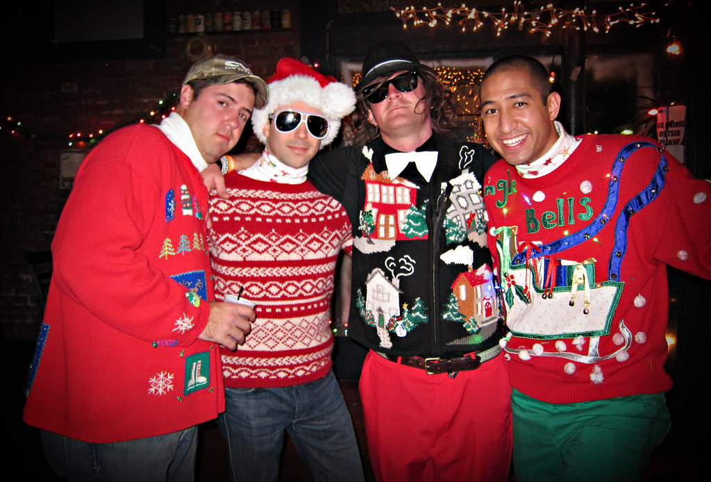 The Ugly Christmas Sweater Party.The Ugly Christmas Sweater Party 2010 Ramsey Mohsen Flickr