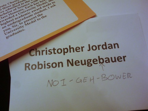 Anti-mispronunciation | by Christopher Neugebauer
