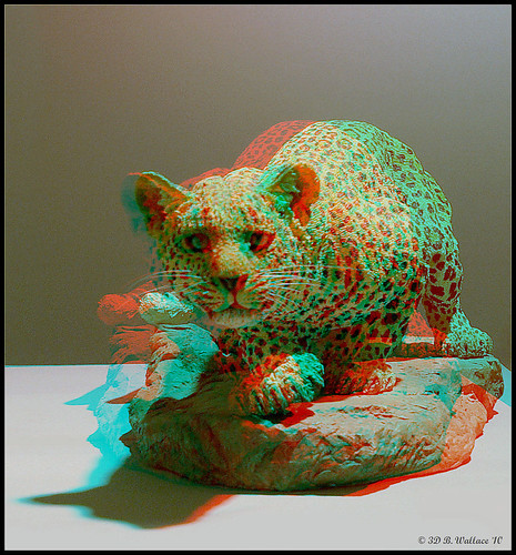 sculpture art stereoscopic 3d brian manipulation anaglyph ps indoors stereo leopard figure wallace inside depth porcelain stereoscopy irfanview stereographic ewf spm brianwallace stereoimage eastonwaterfowlfestival stereopicture