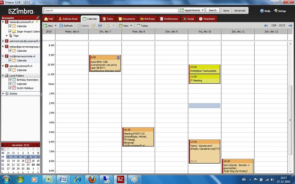 Zimbra Desktop 2 0_Calendar   Screenshot Zimbra Desktop 2 0 …   Flickr