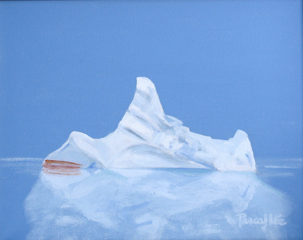 The Iceberg That Sank The Titanic By Pascal Lee Painting Flickr