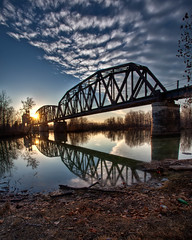 Old RR bridge Ft Smith
