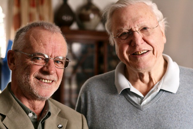 With... Sir David Attenborough