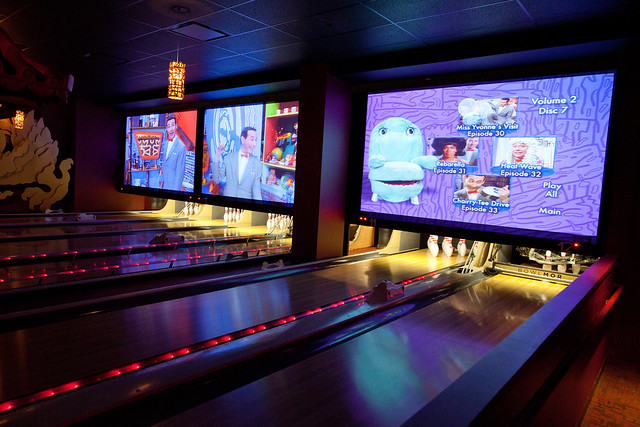 Coolest bowling lanes ever