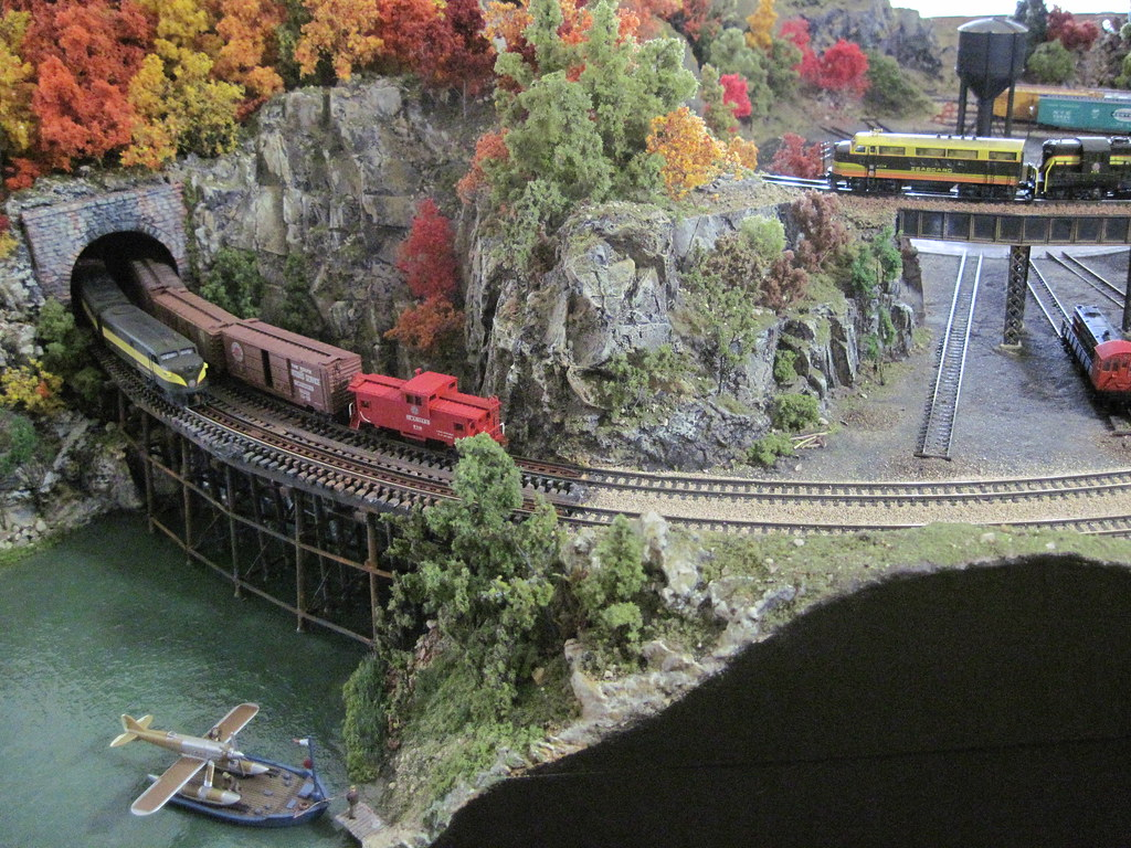Nscale Model Train Layouts   Rolling down the Seaboard Line …   Flickr