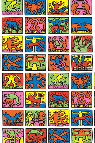 Keith Haring Iphone Wallpaper Hrd A3 Flickr
