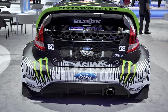 Block Fiesta rear
