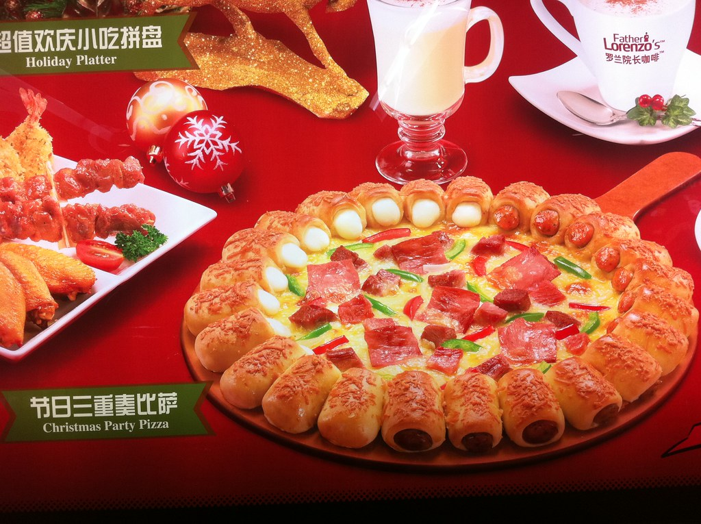Is Pizza Hut Open On Christmas.Pizza Hut S Christmas Gift To China A Heart Attack Flickr
