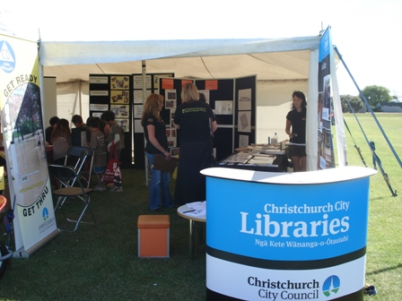 Library tent