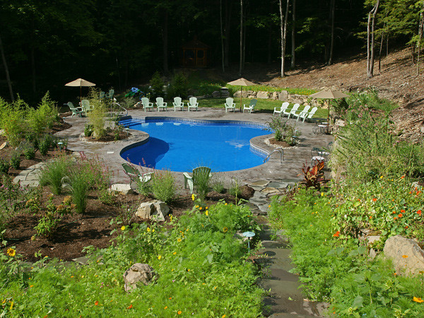 Lagoon 6a | This Lagoon pool design by Pacific Pools is only ...