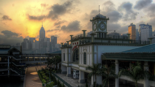 HDR: HK Sunrise | by Edward Allen Lim