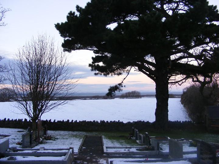 Bride Churchyard Christmas Eve 2010