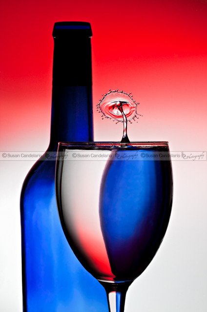 Red White and Blue Reflections and Refractions