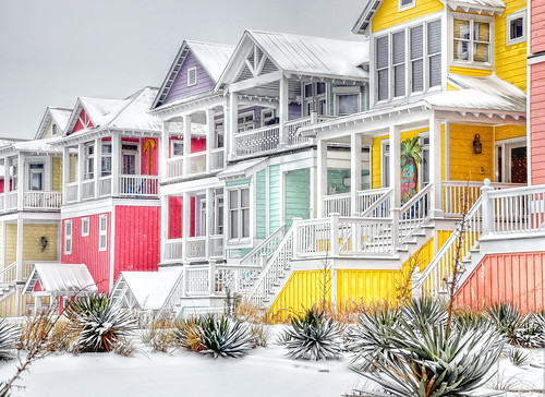 snow colors nc obx atlanticbeach beachhouses