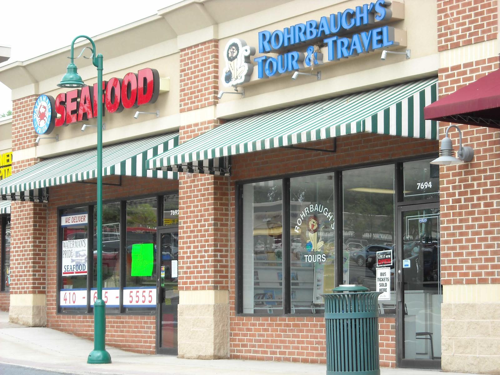 Shopping Mall Storefront -Hoffman Awning Baltimore