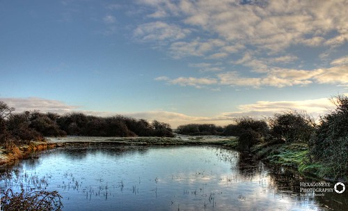 Farlington Frozen Pond | by Hexagoneye Photography