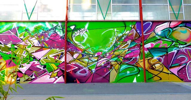 Takt Bandi (mural détail)