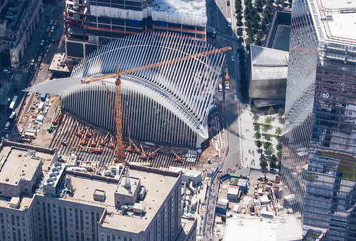 World Trade Center Path Station Construction August 2015 | by Anthony Quintano