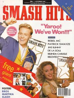 Smash Hits, November 1, 1989