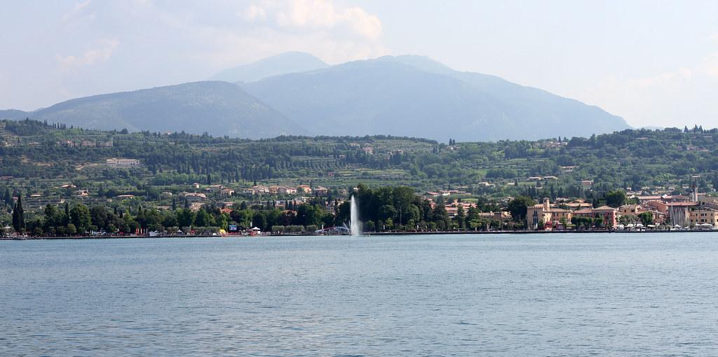 Lake Garda beautiful virwe