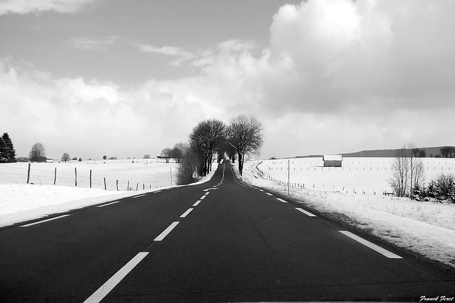 sur la route de levier
