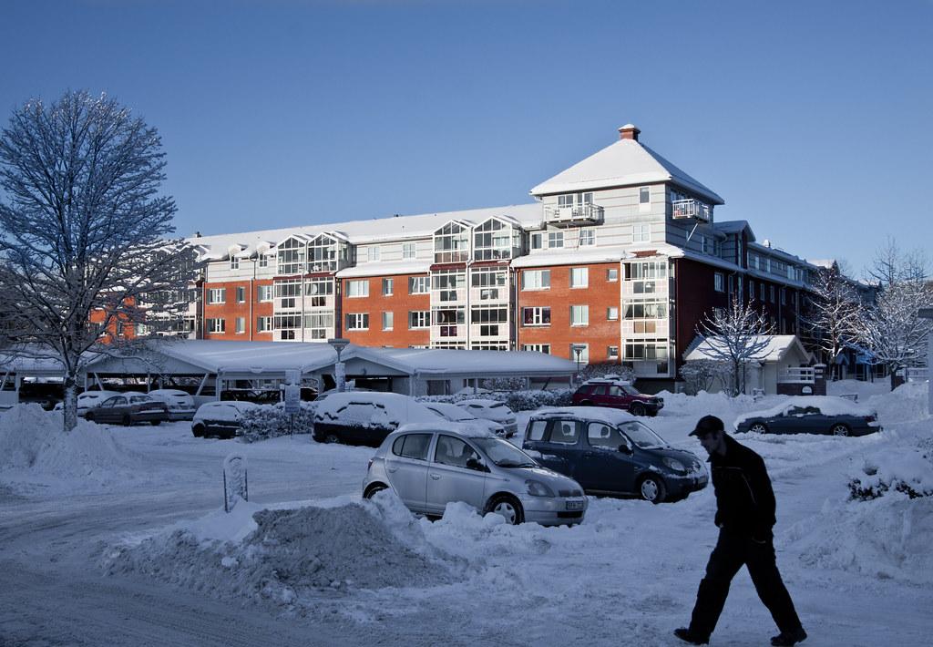 Winter in Hasselbacken