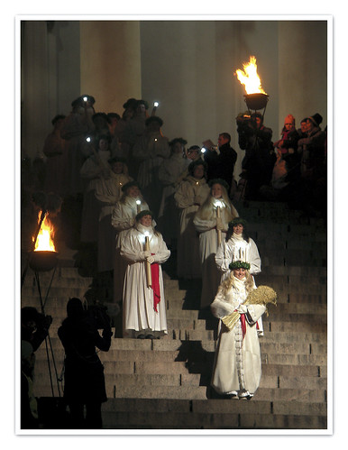 13th DEC | Saint Lucy's Procession | by Toni Kaarttinen