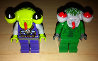 Lego space alien series 3 minifigures new complete