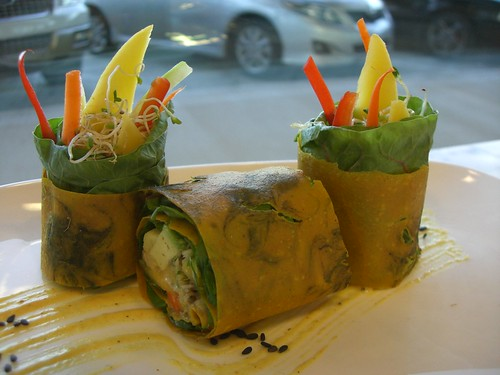 Stain Glass Curry Rolls | by globalraw