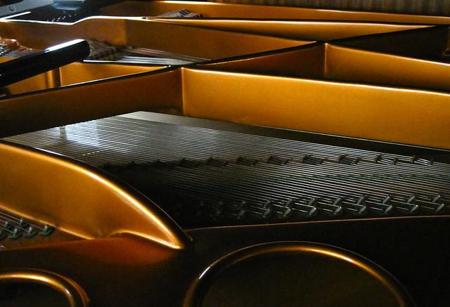 Bosendorfer Grand Piano . .  Inside 2