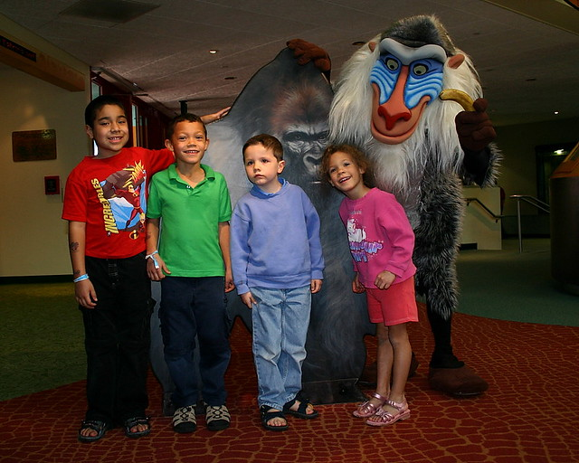 Don't look now, but Rafiki is behind you.