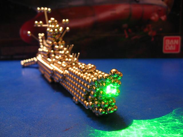 IMG_8037 - Space Battleship Yamato / Star Blazers Wave Motion Gun (Zen Style!)