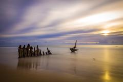 Dicky Beach Shipwreck