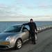 Conduciendo por el Dique de Lelystad-Enkhuizen by jlastras