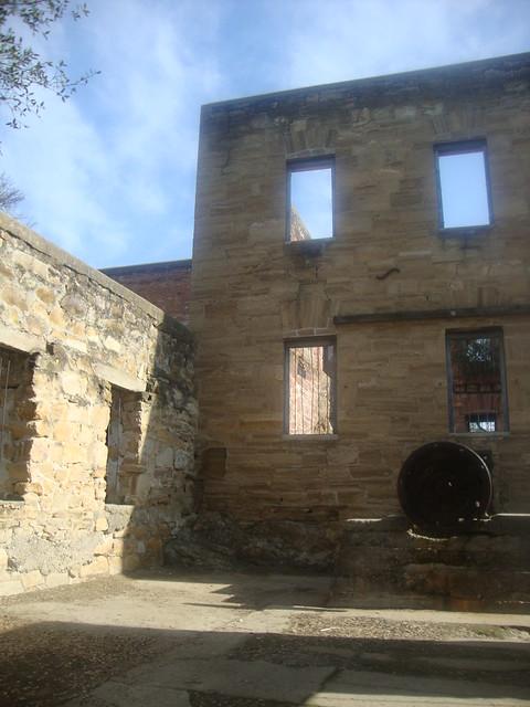 Inside Tulloch's Mill