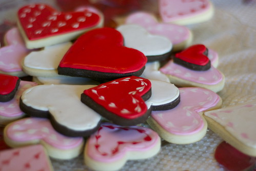 Valentine's Day Sugar Cookies | by Jordana Lea
