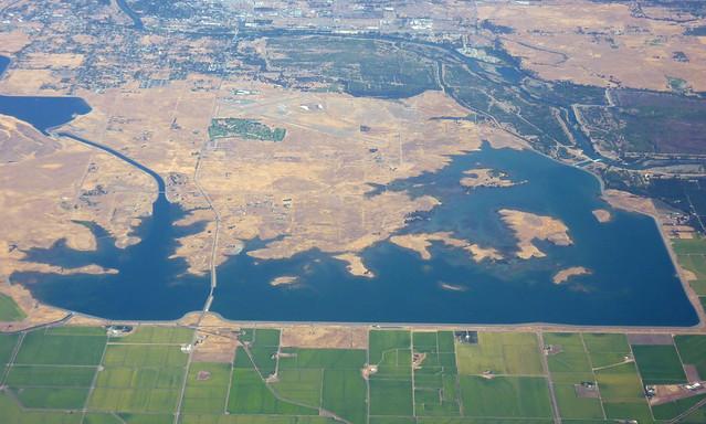 Interesting landscape north of Sacramento