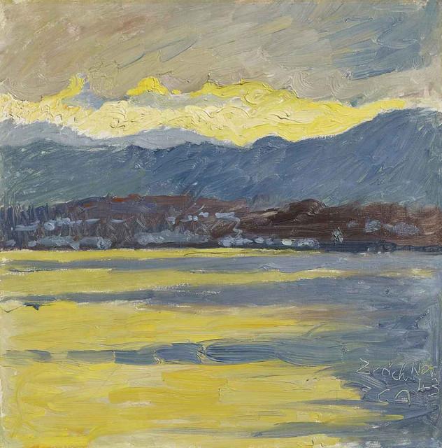 [ A ] Cuno Amiet - Föhnstimmung (Zürichsee) (1943)