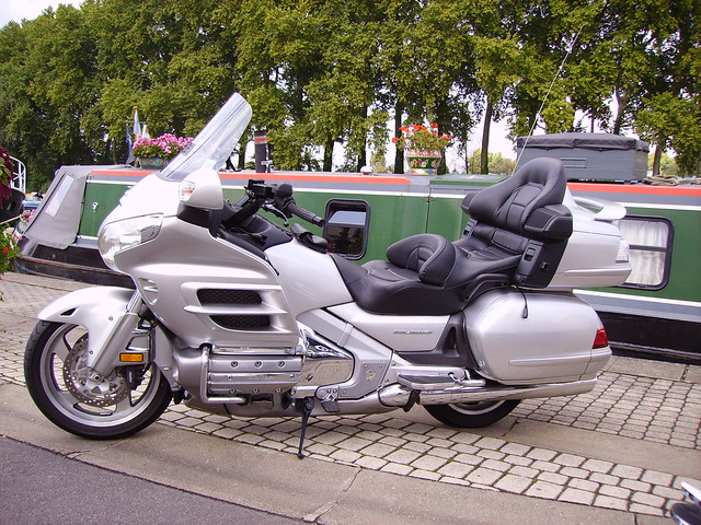 Honda GL1800 Goldwing: guaranteed comfort