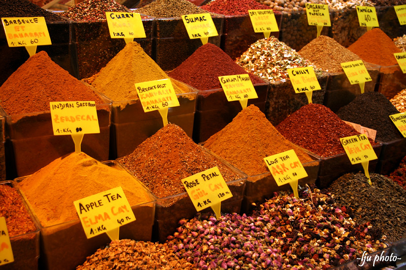 As a port of trading prior the World War I, Turkey is known for its spices. Source: Flickr