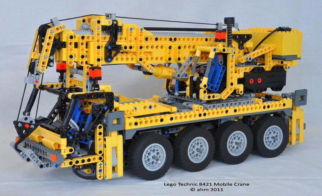 All Sizes Lego Technic 8421 Mobile Crane Flickr Photo Sharing