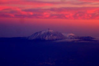 Teide From the Plane | by ebygomm