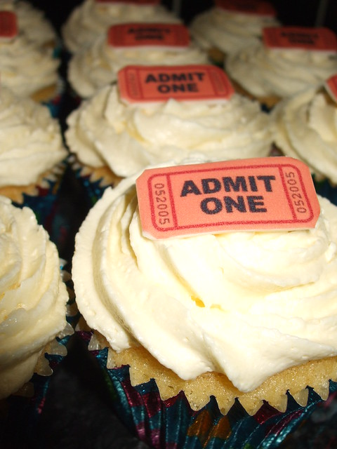 tickets cupcakes,
