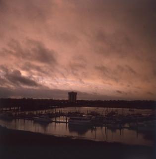 Sunset over Charleston