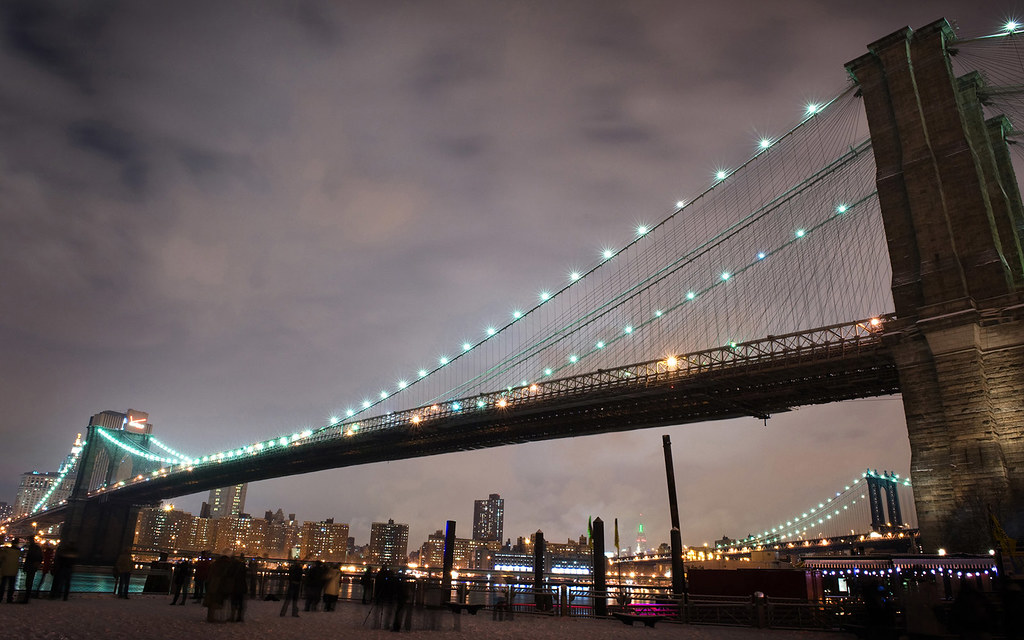 Brooklyn Bridge Hd Wallpaper 1680x1050 Freiheit59 Flickr