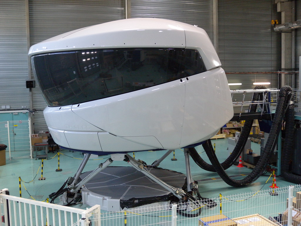 Full Flight Simulator   The Full Flight Simulator is manufac