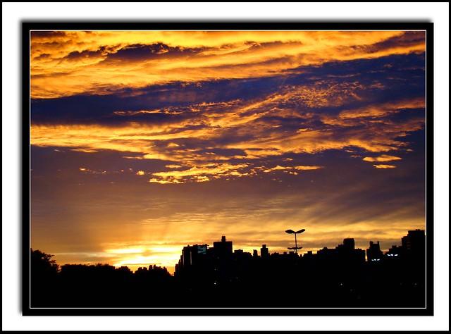Por do Sol em Curitiba