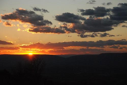 Sunset In Shenandoah   by Joe Shlabotnik
