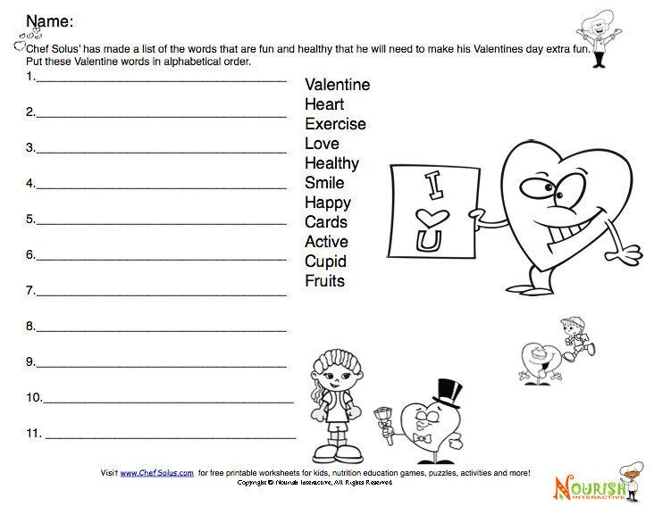 picture regarding Valentine Puzzles Printable known as Valentine Nutritious Phrase Puzzle for Small children Can by yourself area the hea